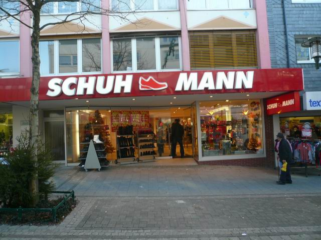 Schuh Mann